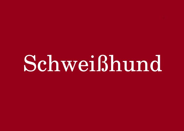 Schweisshund